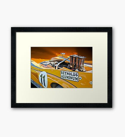 1971 McLaren M8E Can Am Framed Print