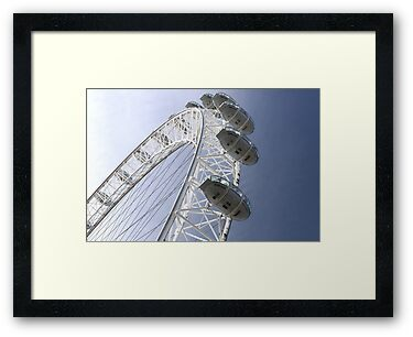 London Eye by Mark Higgins