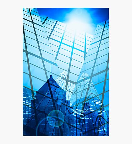 abstract city Photographic Print