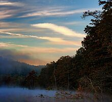 Dawn At Beavers Bend by Carolyn  Fletcher