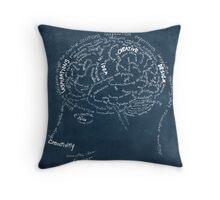 Brain design Throw Pillow