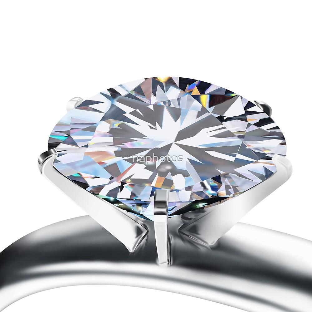 brilliant cut diamond ring by naphotos