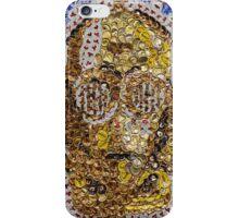 The Trusty Golden Robot - Bottle Cap Mosaic iPhone Case/Skin