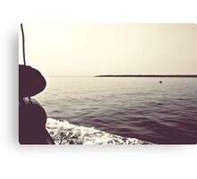 From the boat Canvas Print