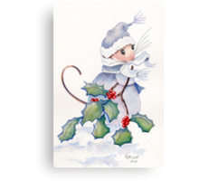 Merry Merry Christmas Canvas Print
