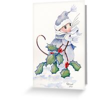 Merry Merry Christmas Greeting Card