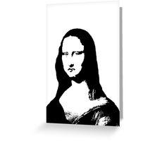 Smokin' Mona Greeting Card