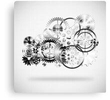 cloud of technology Canvas Print