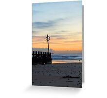 Sunrise, Aberdeen Beach, Scotland Greeting Card