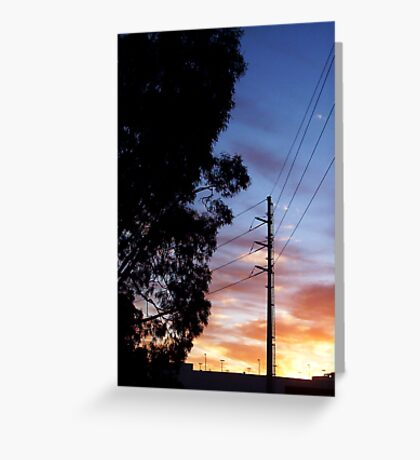 Dawn Three - 24 10 12 Greeting Card
