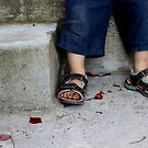 Gabriel's feet by fourthangel