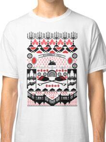 Crimson Peak Ugly Sweater Pattern Classic T-Shirt