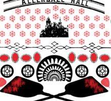 Crimson Peak Ugly Sweater Pattern Sticker