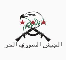 Free Syrian Army logo large  by obskura