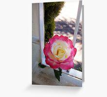 Rose One - 10 11 12 Greeting Card