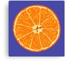 orange blue Canvas Print