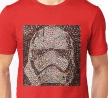 The Silver Trooper Captain - Bottle Cap Mosaic Unisex T-Shirt