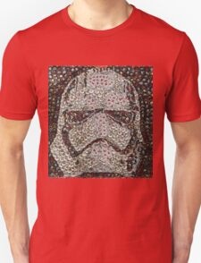 The Silver Trooper Captain - Bottle Cap Mosaic T-Shirt