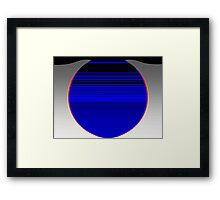 Small hours Framed Print