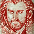 Richard Armitage, sanguine of Thorin Oakenshield  by jos2507