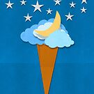 ice cream design by weather icon by naphotos
