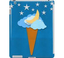 ice cream design by weather icon iPad Case/Skin