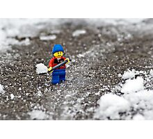 Epic Shoveling Photographic Print