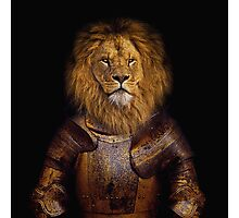 Leo The Lionheart Photographic Print