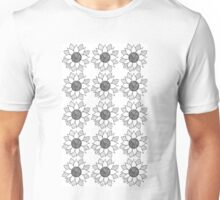 Flower Pattern Unisex T-Shirt