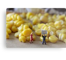 Be honest, Don…you've never really seen a corn maze, have you???? Metal Print