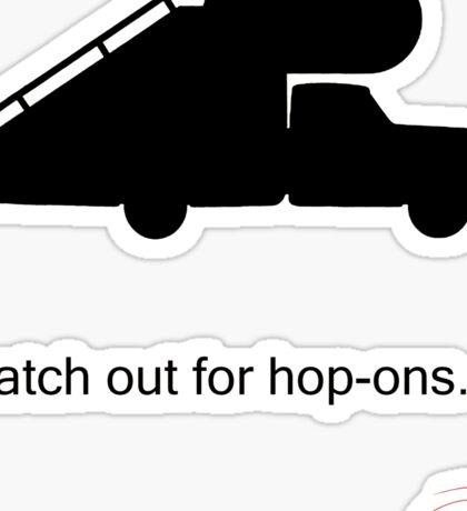 Arrested Development Hop Ons Sticker