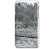 Early Spring in England Black and White iPhone Case/Skin