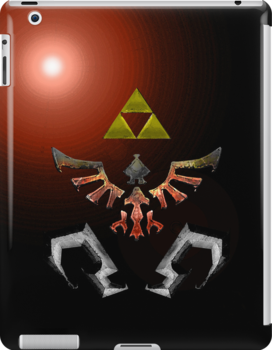 Skyward Sword iPhone/ iPad Shield- Demise's Burning theme by Midna