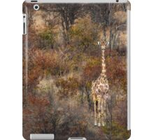Can't tell the forest from the giraffe iCase iPad Case/Skin