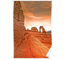 The Delicate Arch Poster
