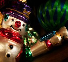 Snowman Ornament by KellyHeaton