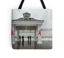Breast Cancer & Sandy Tote Bag