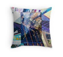 Urban Abstract II.b Throw Pillow