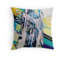 Urban Abstract I.c Throw Pillow