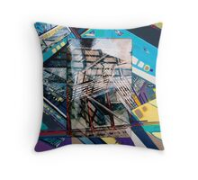 Urban Abstract I.b Throw Pillow