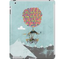 Riding A Bicycle Through The Mountains iPad Case/Skin