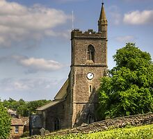 St Margaret's Church, Hawes - iPad Case by Tom Gomez