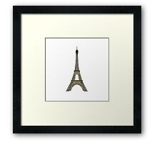 Eiffel Tower in Paris Framed Print