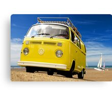 Beach Beetle Canvas Print