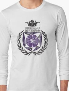 Crystal Empire Coat of Arms Long Sleeve T-Shirt