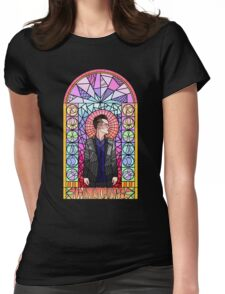 This is Gospel Stain Glass  Womens Fitted T-Shirt