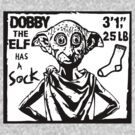 Dobby the Elf has a Sock by paperboyjim