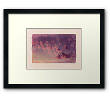 A murder of an unknown person with love letters in his pocket Framed Print