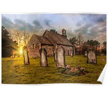 St Oswald at Sundown Poster