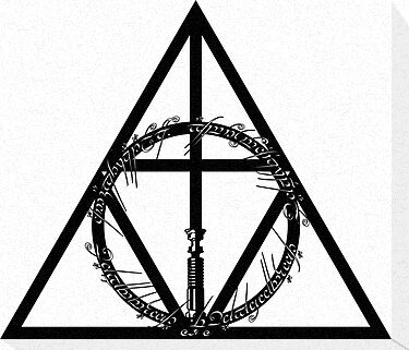 The Geekly Hallows by paperboyjim